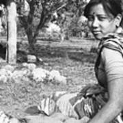 Tilak Devi 1985 Art Print
