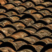 Tile Roof 4 Art Print