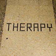 Tile Therapy Art Print