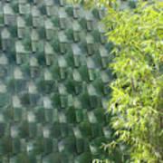Tile Wall Of The Ringling Museum Asian Art Center Art Print