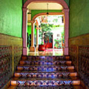 Tiled Foyer 2 Art Print