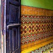 Tiled Foyer Art Print
