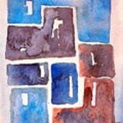 Tiles 2 Art Print