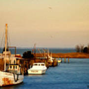 Tilghman Island Maryland Art Print