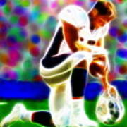 Tim Tebow Magical Tebowing 2 Art Print
