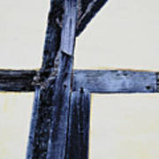 Timber Framing Detail Art Print