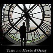 Time At The Musee D'orsay Art Print