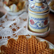 Time For Waffle Art Print