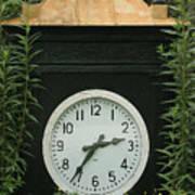 Time In The Garden Art Print