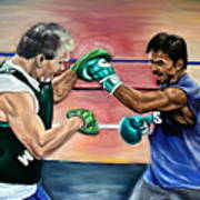 Time In The Ring Print by Dawn Graham