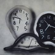 Time Slipping Away Art Print