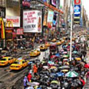 Times Square 1 Art Print