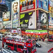 Times Square II Art Print