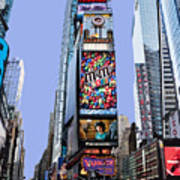 Times Square Nyc Art Print by Kelley King