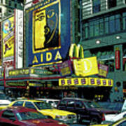 Times Square Visitors Center Art Print