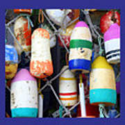 Tin Shed Floats Art Print