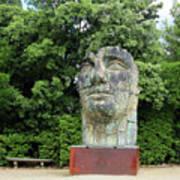 Tindaro Screpolato Sculpture In Boboli Garden 0197 Art Print