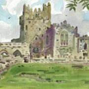 Tintern Abbey 1 Art Print