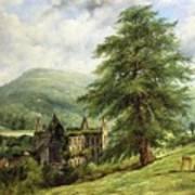 Tintern Abbey  Art Print