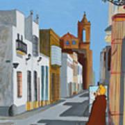 Tintin En Puerto Real Art Print