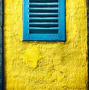 Tiny Window With Closed Shutter Art Print