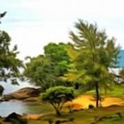 Tioman Island Beach Art Print