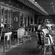 Titanic: Parisian Cafe, 1912 Art Print