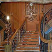 Titanics Grand Staircase Art Print