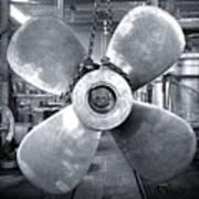 Titanic's Propellers Art Print