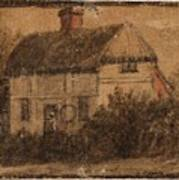 Title A Cottage Art Print