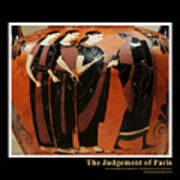 Titled Judgement Of Paris Art Print