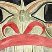 Tlingit Clan Beaver Art Print