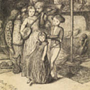 To Caper Nimbly In A Lady's Chamber To The Lascivious Pleasing Of A Lute Art Print