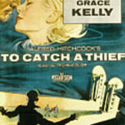 To Catch A Thief, Poster Art, Cary Art Print by Everett