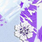 To Save A Snowflake, Portrait Orientation Art Print