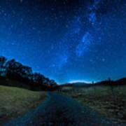 To The Milky Way Art Print
