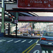 To The Triboro Art Print