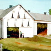 Tobacco Barn Art Print