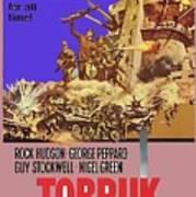 Tobruk Theatrical Poster 1967 Color Added 2016 Art Print