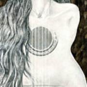 Tocar Mi Amor Art Print