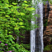 Toccoa Falls In Georgia Art Print