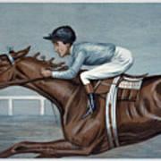 Tod Sloan (1874-1933) Art Print