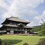 Todaiji Temple Art Print