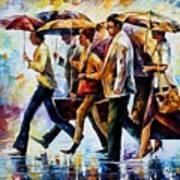 Today I Forgot My Umbrella... Art Print