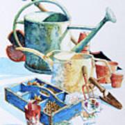 Todays Toil Tomorrows Pleasure IIi Art Print