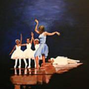 Toe Dancer Art Print