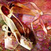 Toe Shoes Art Print