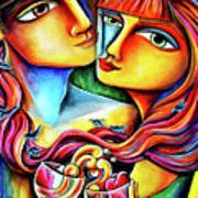 Together In Love Art Print
