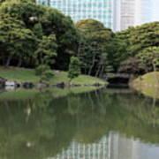 Tokyo Japanese Garden Art Print