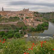 Toledo City, Spain Art Print